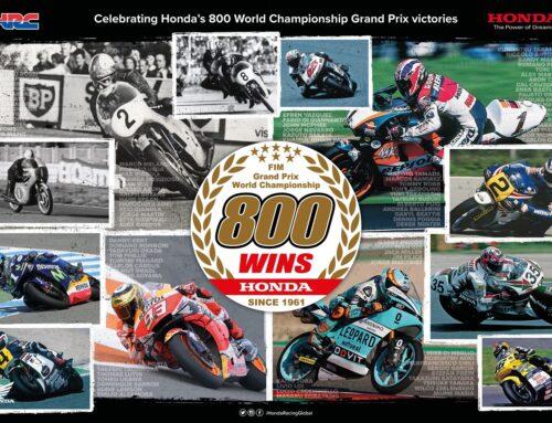 800ή νίκη Ρεκόρ GrandPrix για τη Honda